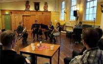 Saxofoonkwartet Quatre Forte geeft uitstekend optreden