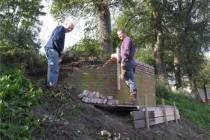 Opknapbeurt bunker Engelse tuin
