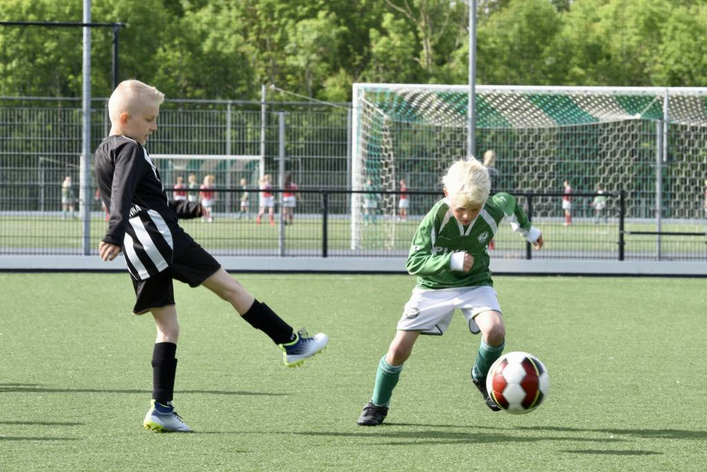 Afgelopen zaterdag alweer de tweede ronde van de regiocup. (Foto's: Frans Bode)