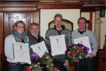 Vrijwilligers KNRM Harlingen ontvangen blijk van waardering