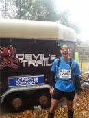 Herman Geritz bedwingt loodzware Devil?s Trail