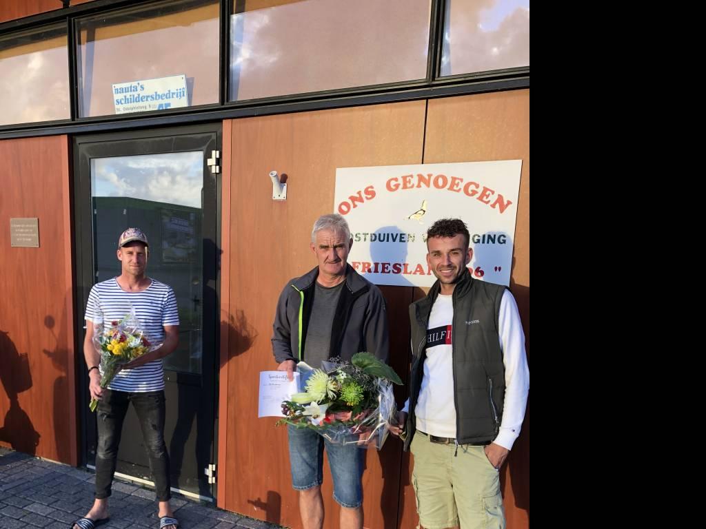 Henk, Sjoerd en Rutger.
