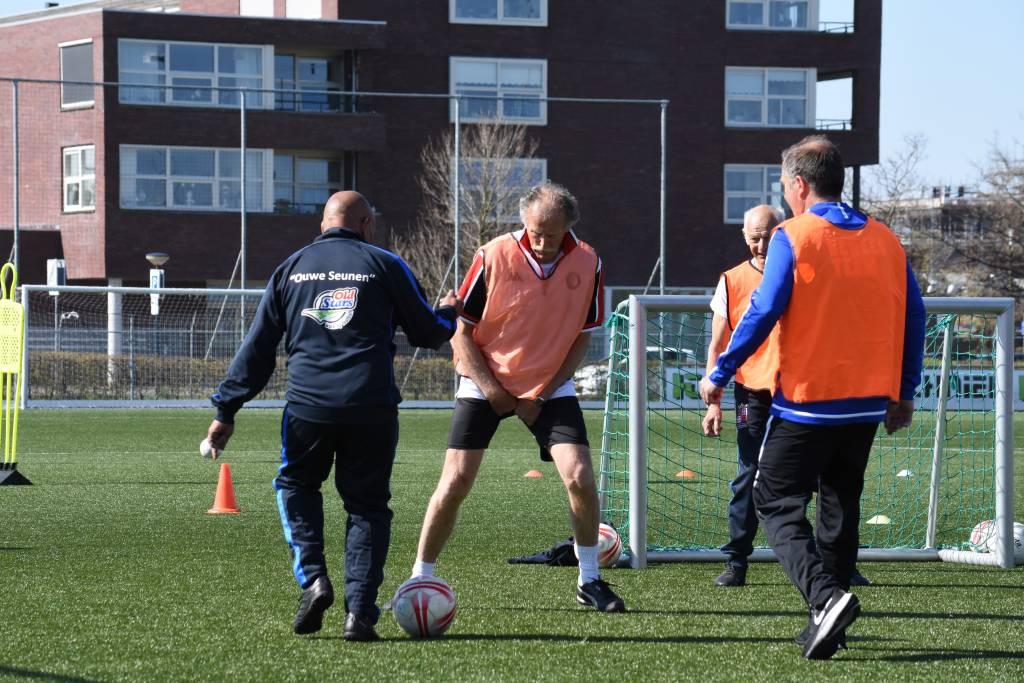 Walking Football fc Harlingen. (Foto E.c.A)