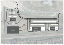Nieuw benzinestation en drive-thru bij ovatonde