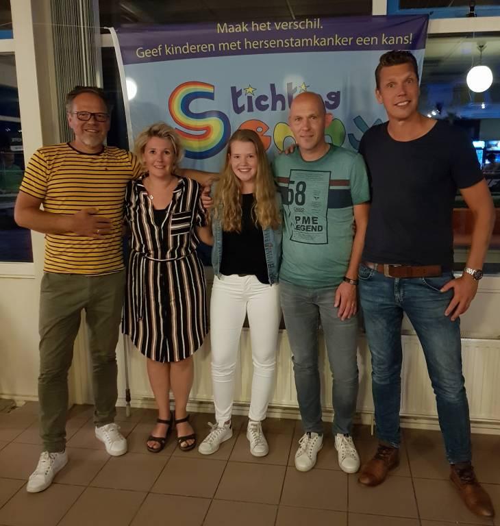 Familie Metz met Henk en Arjen.