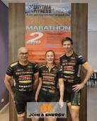 Spinning marathon voor Join4Energy bij Anytime Fitness
