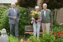 Jan Bosga en Ans Glas  60 jaar getrouwd