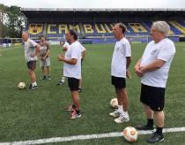 Walking Football Harlingen traint bij Cambuur