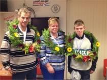 Winnaars veldcompetitie 2012 KV Eendracht
