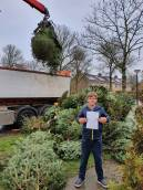 202 kerstbomen ingezameld!