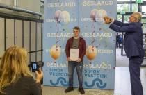 Feestelijke diploma-uitreiking op RSG Simon Vestdijk