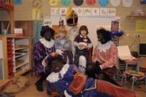 Sinterklaas verwelkomt 200ste en 201ste leerling cbs Het Baken