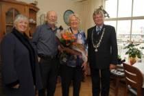 Echtpaar Tot zestig jaar getrouwd