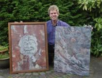 Harlinger schilder Jelle Zijlstra: ?Het is prachtig werk?