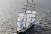 Tall ship Alexander von Humboldt II woensdag open voor publiek