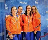 Zwemster Silke Huisman Noord Europese topper
