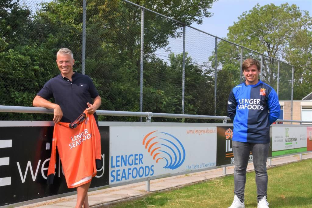 Lolke Visser (l) en Jens Van Sluis (r). (Foto: E.c.A.)