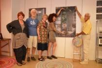 Kunstenaars in voormalig pand Blokker