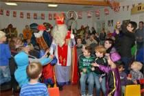 Sinterklaas op bezoek in De Spil