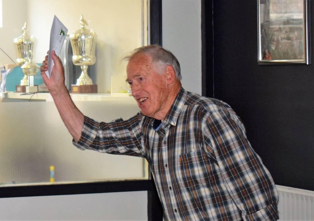 Feike Feikema boekt een mooie overwinning op Rethel.(Foto: P. Broekhuizen)