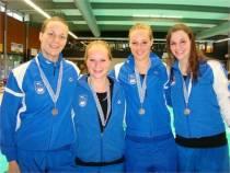 Dames Vikings tweede op Kampioenschap