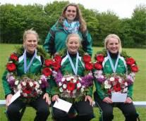 Dames van Easterein winnen in Kimswerd