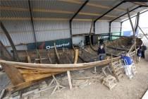 Eerste fase herbouw schip Willem Barentsz afgerond