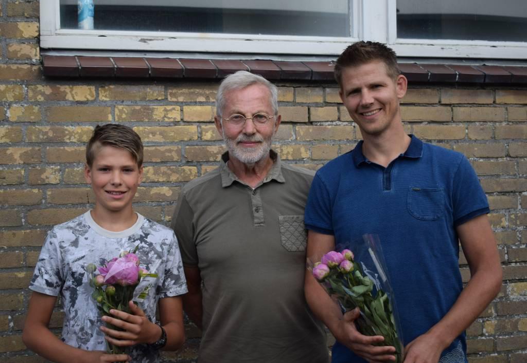 Voor drie generaties Heeres was er vorige week een overwinning.(Foto: P. Broekhuizen)