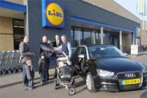 Harlinger echtpaar wint spiksplinternieuwe Audi