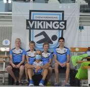 Zwemmers Vikings naar NK estafette