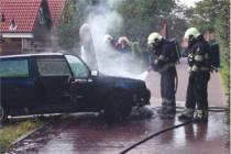 Auto in de brand