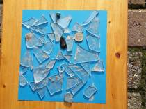 Glasscherven in Harlinger Bos