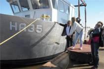 HA35 Confianza van handkokkelvisserij Harlingen BV gedoopt