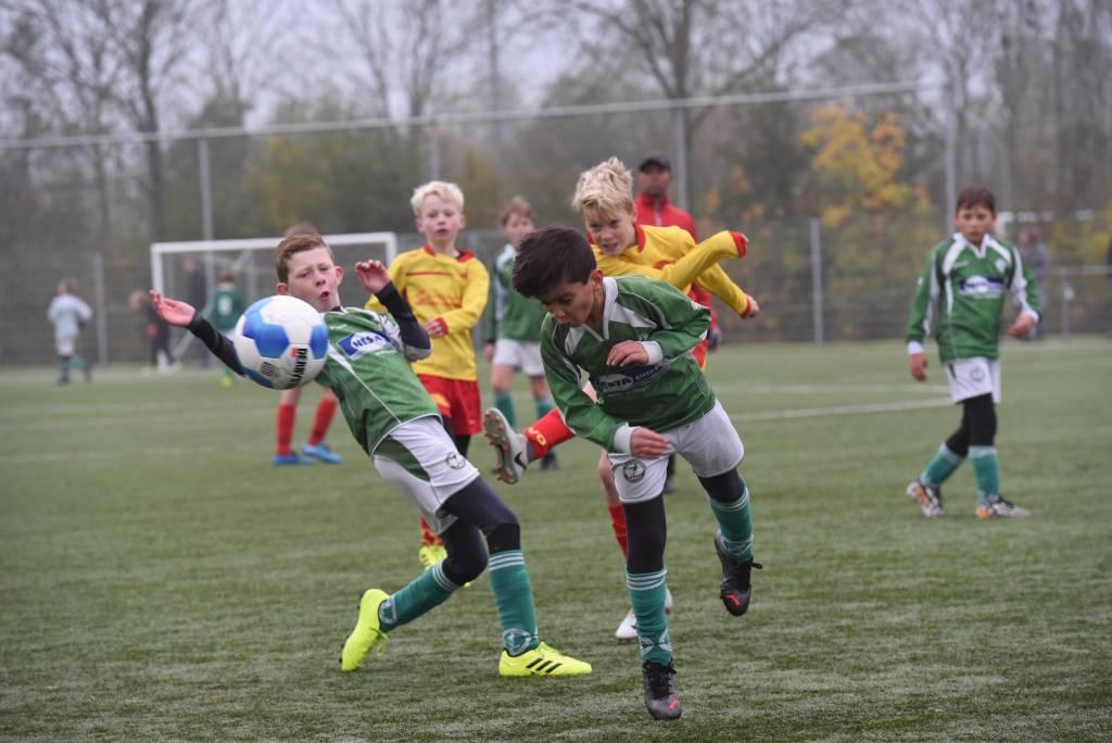 Zeerobben JO11-2 speelde afgelopen zaterdag tegen Oosterlittens JO11-1 en verloor met 2-6.(Foto: Frans Bode)