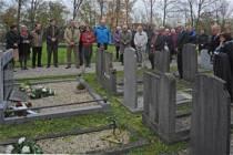 Herdenking slachtoffers bom op de Schritsen