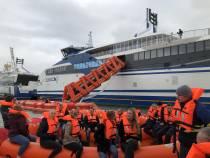 Marine Evacuation System succesvol getest op Willem Barentsz