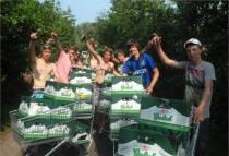 Kampeerders trouw aan hun eigen biertje